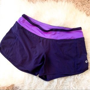 Lululemon Z4 Shorts